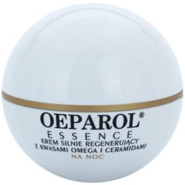 Oeparol Essence regenerierende Nachtcreme mit Omega-Fettsäuren und Ceramiden für trockene bis sehr trockene Haut  50 ml