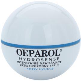 Oeparol Hydrosense intensive, hydratisierende Creme LSF 15  50 ml