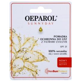 Oeparol Sunnyday schützendes Lippenbalsam SPF 25 (Olea Sun Protect Complex) 4,8 g