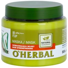 O'Herbal Acorus Calamus máscara fortificante para cabelo fino  500 ml