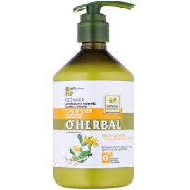 O'Herbal Arnica Montana objemový kondicionér pro jemné vlasy  500 ml
