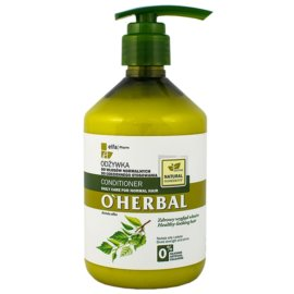 O'Herbal Betula Alba acondicionador para uso diario para cabello normal  500 ml