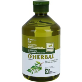 O'Herbal Betula Alba sampon mindennapi használatra normál hajra  500 ml
