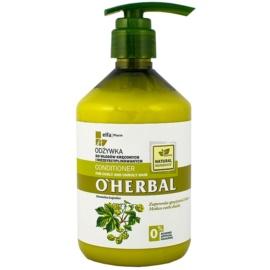 O'Herbal Humulus Lupulus kondicionér pro nepoddajné a krepatějící se vlasy  500 ml