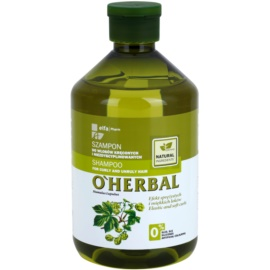 O'Herbal Humulus Lupulus šampon pro nepoddajné a krepatějící se vlasy  500 ml