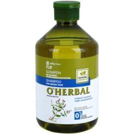 O'Herbal Mentha Piperita šampon pro mastné vlasy  500 ml