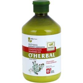 O'Herbal Thymus Vulgaris condicionador para cabelo pintado  500 ml
