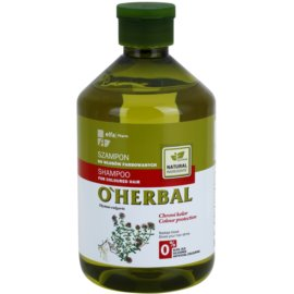O'Herbal Thymus Vulgaris šampon pro barvené vlasy  500 ml