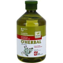 O'Herbal Thymus Vulgaris szampon do włosów farbowanych  500 ml