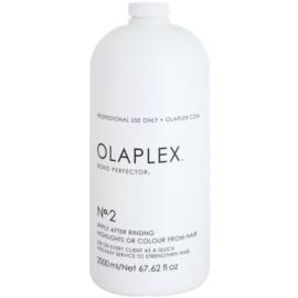 Olaplex Professional Bond Perfector obnovující péče snižující poškození vlasů při barvení s pumpičkou  2000 ml