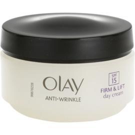 Olay Anti-Wrinkle Firm & Lift dnevna krema proti gubam SPF 15  50 ml