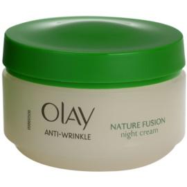 Olay Anti-Wrinkle Nature Fusion omlazující noční krém na obličej a krk  50 ml