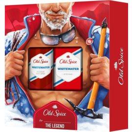 Old Spice Whitewater lote de regalo II.  desodorante en spray 150 ml + loción after shave 100 ml