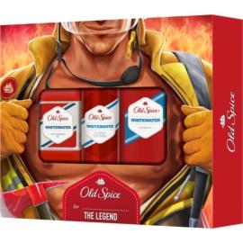 Old Spice Whitewater Geschenkset V.  Deo-Spray 150 ml + Duschgel 250 ml + Antitranspirant 70 ml