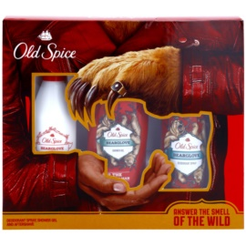 Old Spice Bearglove coffret I. loção after shave 100 ml + desodorizante em spray 150 ml + gel de duche 250 ml