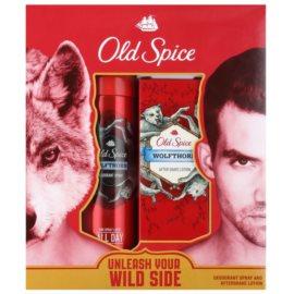 Old Spice Wolfthorn ajándékszett II.  dezodor szpré 125 ml + borotválkozás utáni arcvíz 100 ml