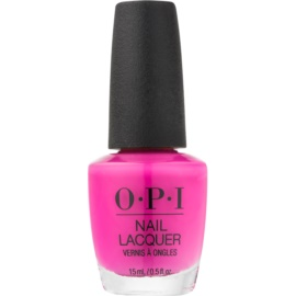 OPI Lisbon lac de unghii culoare No Turning Back From Pink Street 15 ml