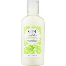 OPI Avojuice feutigkeitsspendende Milch für Hände und Körper  30 ml