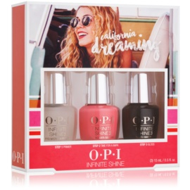 OPI California Dreaming Infinite Shine Cosmetica Set  II.