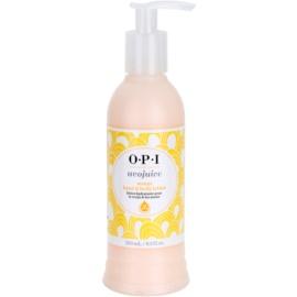 OPI Avojuice lapte hidratant cu efect de netezire portocaliu  250 ml