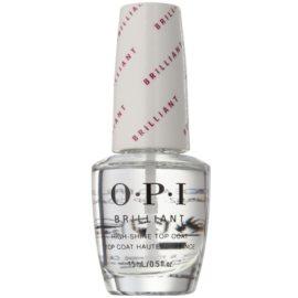 OPI Brilliant vrchní ochranný lak na nehty s leskem  15 ml