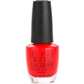 OPI Coca-Cola лак за нокти  цвят Coca-Cola Red 15 мл.
