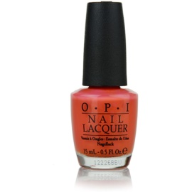 OPI Hong Kong Collection körömlakk árnyalat Hot & Spicy 15 ml