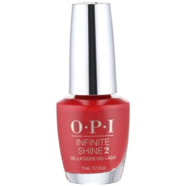 OPI Infinite Shine 2 lak na nehty odstín Big Apple Red 15 ml