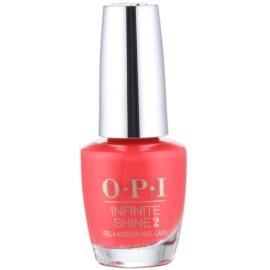 OPI Infinite Shine 2 lak na nehty odstín Cajun Shrimp 15 ml