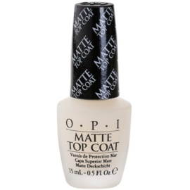OPI Matte Top Coat lac de unghii mat  15 ml
