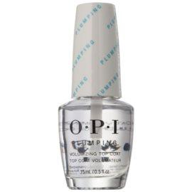 OPI Plumping vrchní lak na nehty s gelovým efektem  15 ml