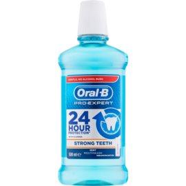 Oral B Pro-Expert Strong Teeth ústní voda příchuť Mint 500 ml