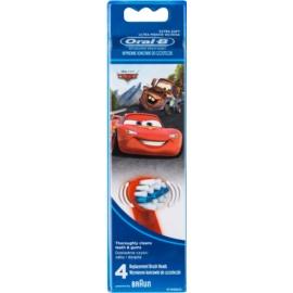 Oral B Stages Power EB10 Cars Ersatzkopf für Zahnbürste extra soft  4 St.