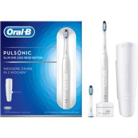 Oral B Pulsonic Slim One 2200 White sonická zubná kefka S311.523.2X