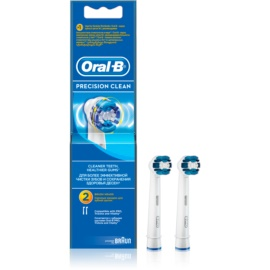 Oral B Precision Clean EB 20 Replacement Heads For Toothbrush  2 pc