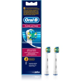 Oral B Floss Action EB 25 Replacement Heads For Toothbrush  2 stk.