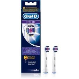Oral B 3D White EB 18 końcówki wymienne do szczoteczki do zębów  2 szt.