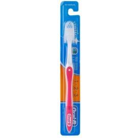 Oral B 1-2-3 zubní kartáček medium