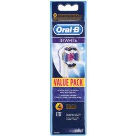 Oral B 3D White EB 18 náhradní hlavice pro zubní kartáček  4 ks