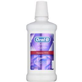 Oral B 3D White Luxe ústní voda pro zářivě bílé zuby příchuť Sparkling Fresh 500 ml