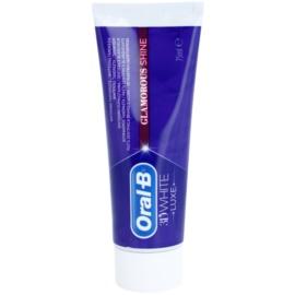 Oral B 3D White Luxe bělicí pasta proti skvrnám na zubní sklovině  75 ml