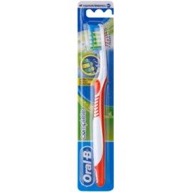 Oral B Complete Antibacterial zubní kartáček medium Mix Colors