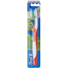 Oral B Complete Antibacterial zubní kartáček medium Mix Colors