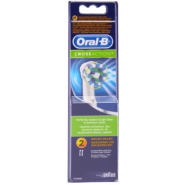 Oral B Cross Action EB 50 tartalék kefék  2 db