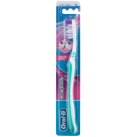 Oral B Complete Ultra Thin Bristles escova de dentes soft  Green