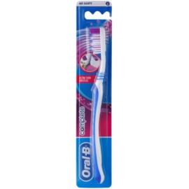 Oral B Complete Ultra Thin Bristles zubná kefka soft Blue