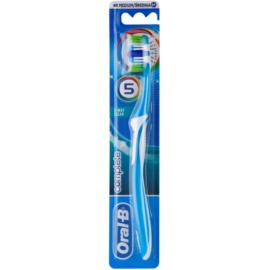 Oral B Complete 5-Way Clean szczoteczka do zębów medium Light Blue