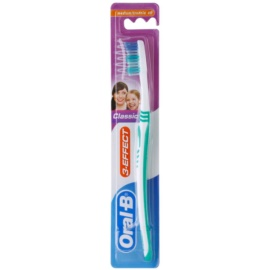 Oral B 3-Effect Classic fogkefe közepes Green