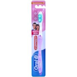 Oral B 3-Effect Delicate White zubní kartáček medium Lila