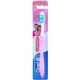 Oral B 3-Effect Delicate White zubní kartáček medium Pink